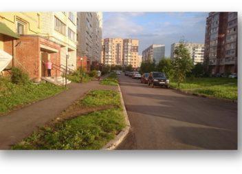 В Эжвинском районе завершаются работы по программе «Формирование комфортной городской среды»