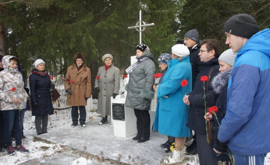В память о жертвах политических репрессий в районе прошли митинги
