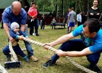 Спортивный праздник для эжвинских семей