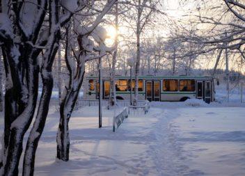О перекрытии движения общественного транспорта в Новогоднюю ночь