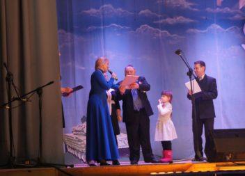 В Эжве прошел праздничный вечер, посвященный 23 февраля
