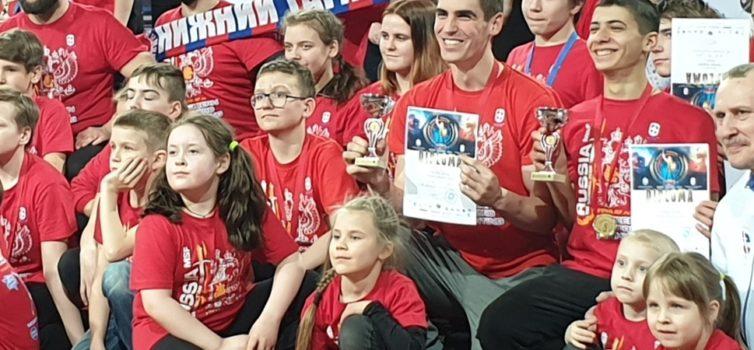 Эжвинский клуб «1000» привёз медали с первого чемпионата мира по современному мечевому бою