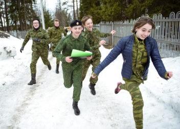 В Эжвинском районе возродили военно-спортивную игру «Зарница»