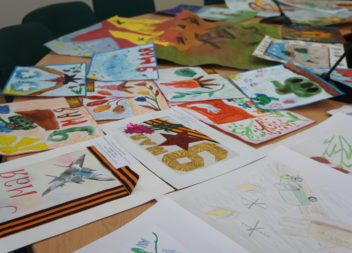 Итоги конкурса рисунков «Победа глазами детей»