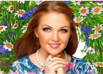 Певица Марина Девятова приглашает на свой концерт
