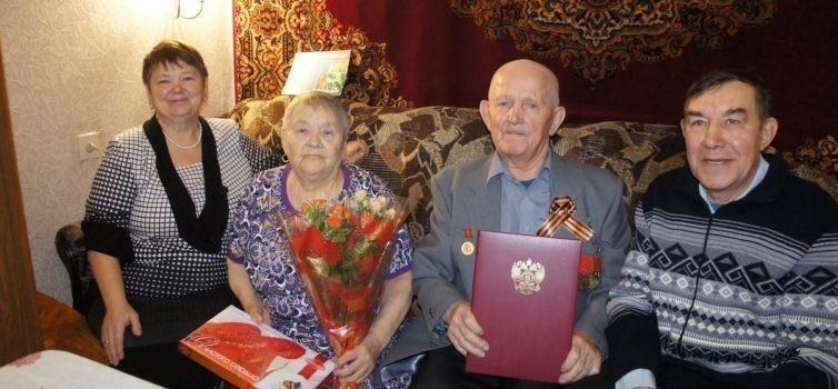Житель Эжвы Поповцев Валерьян Константинович отметил 90-летие