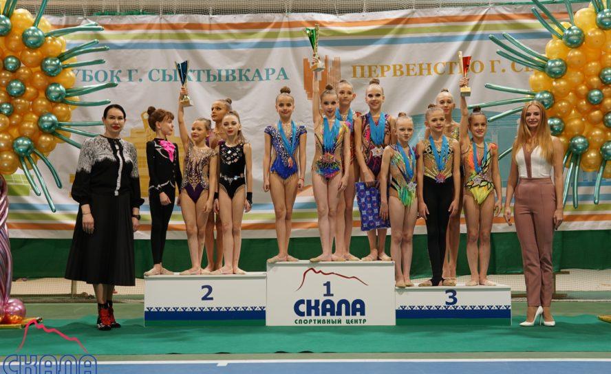 Эжвинские гимнастки успешно выступили на открытом Кубке города