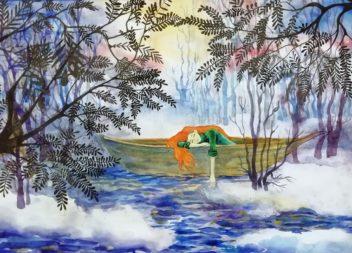 Эжвинская художественная школа приглашает на детскую выставку «Яркими красками»!