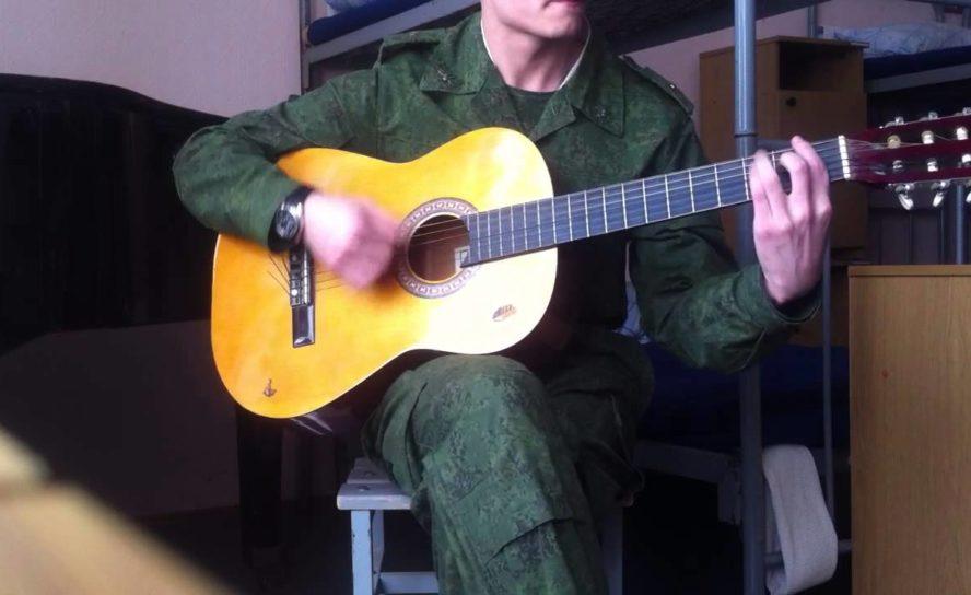 """Конкурс патриотической песни """"Армейский микрофон"""""""