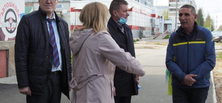 В Эжвинском районе прошла приемка общественных территорий в рамках программы ФКГС