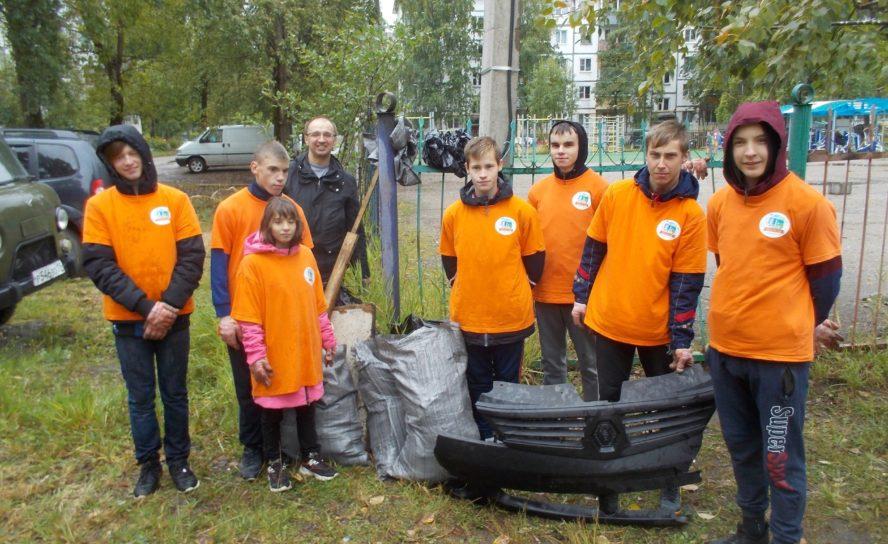 Волонтеры преображают Эжву